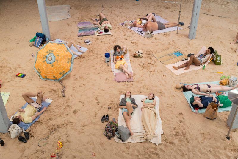 1_Sun&Sea (Marina), opera-performance by Rugile Barzdziukaite, Vaiva Grainyte, Lina Lapelyte at Biennale Arte 2019, Venice_ Photography_ Andrej Vasilenko © Courtesy_ The Artists