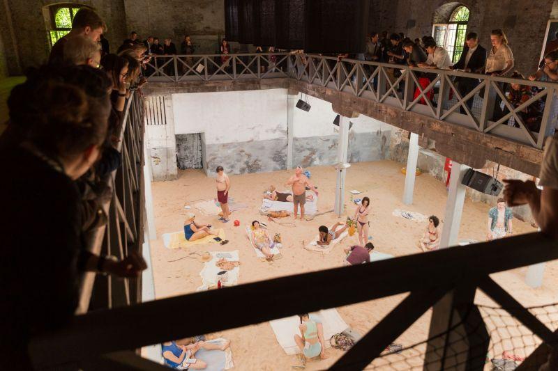 8_Sun&Sea (Marina), opera-performance by Rugile Barzdziukaite, Vaiva Grainyte, Lina Lapelyte at Biennale Arte 2019, Venice_ Photography_ Andrej Vasilenko © Courtesy_ The Artists