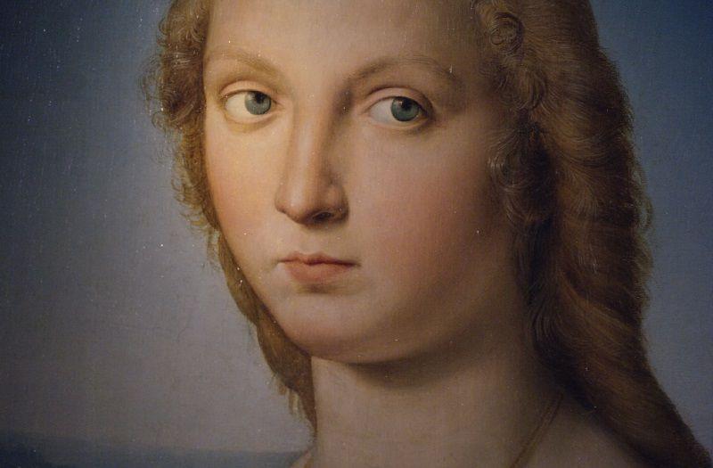 """Dettaglio """"Dama con Liocorno"""""""