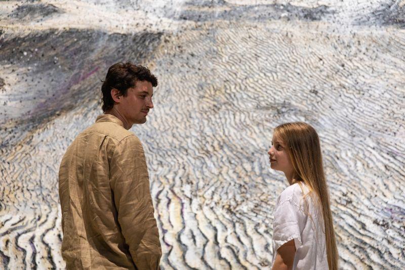 Niels Schneider e Aurora Onofri (foto di Adele Pozzali)