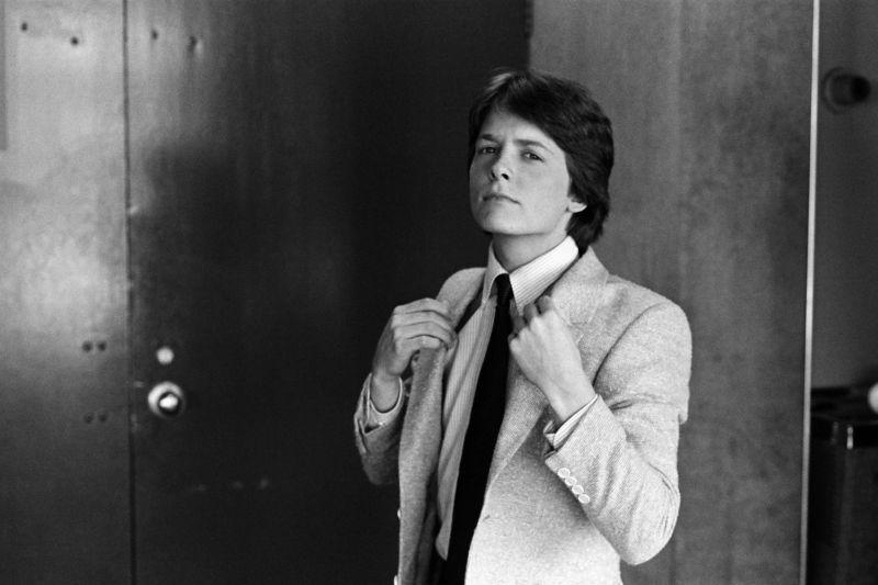 "Un giovane Michael J. Fox in ""Casa Keaton""  -- Photo by: NBC/NBCU Photo Bank"