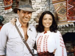 Harrison Ford e Karen Allen