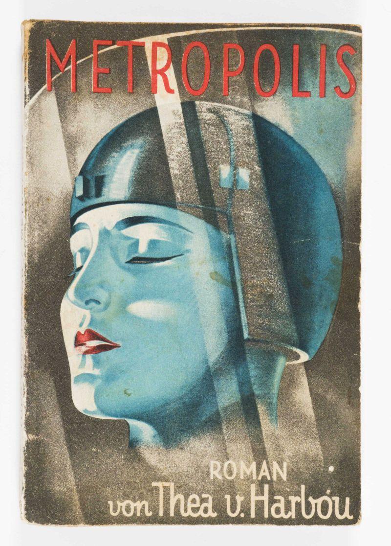 Thea von Harbou Metropolis [edizione tedesca] 1926 volume a stampa 19 × 13 cm Milano, Collezione Italo Rota