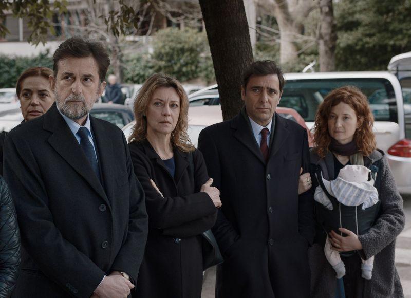 Nanni Moretti, Margherita Buy, Adriano Giannini e Alba Rohrwacher