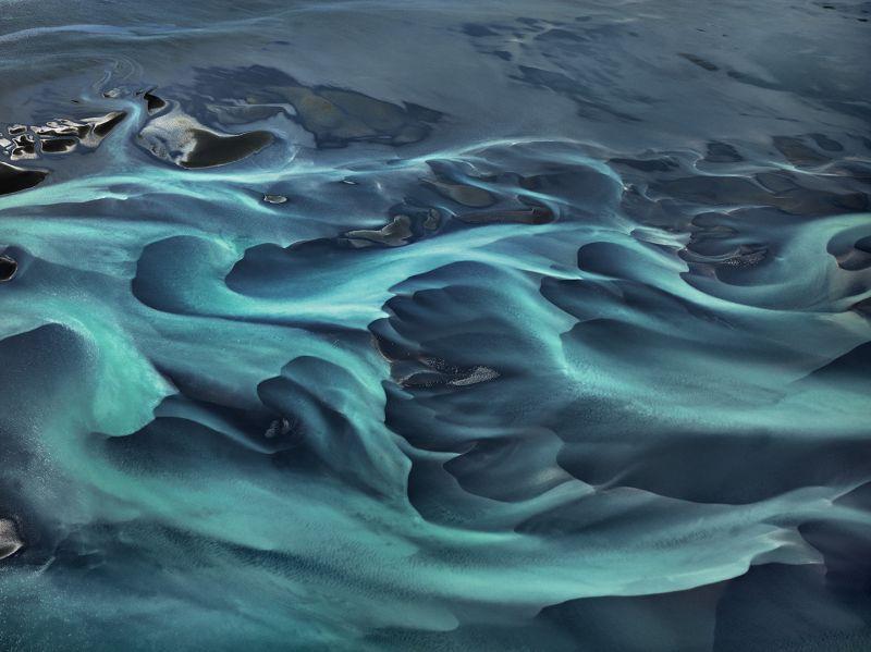 Aerial of Iceland. Photo by Edward Burtynsky.