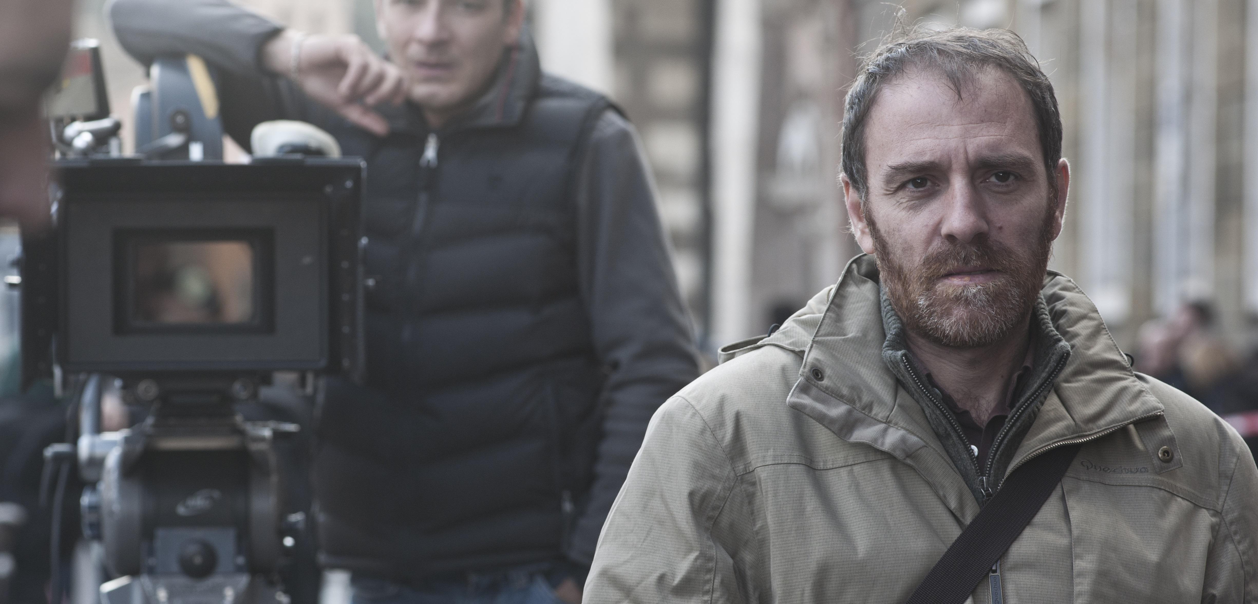 """Valerio Mastandrea sul set de """"Gli Equilibristi"""""""