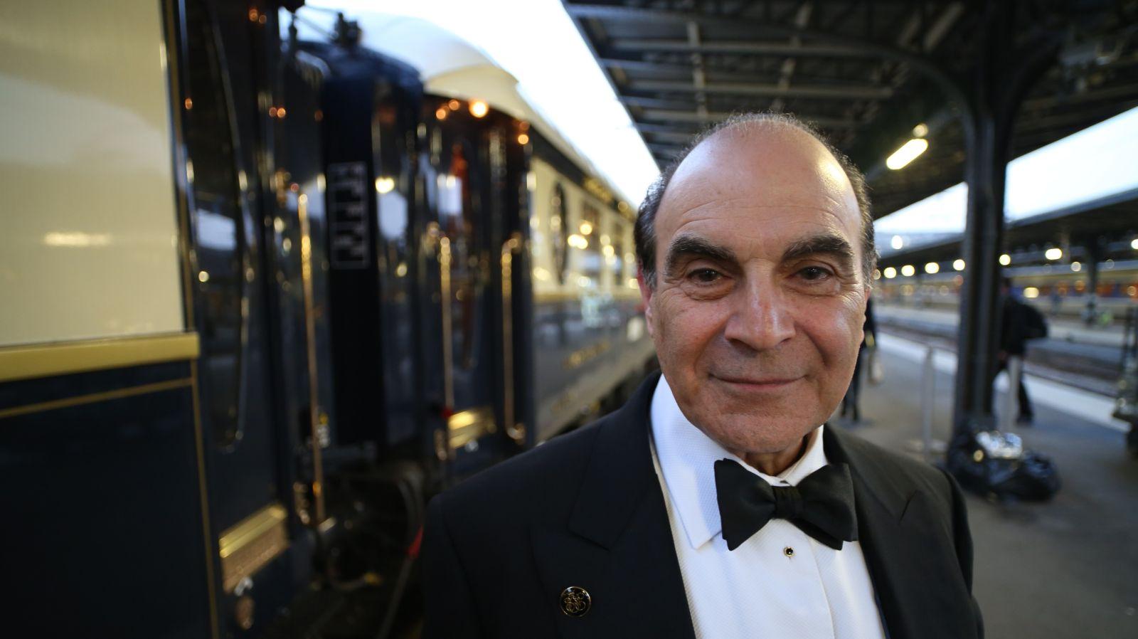 David Suchet & the Venice Simplon Orient Express ok