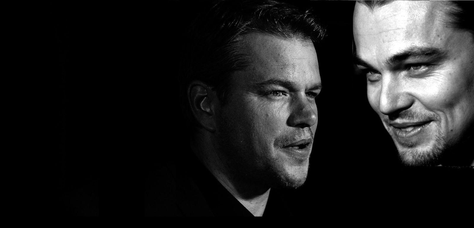 cop-Leonardo DiCaprio Matt Damon