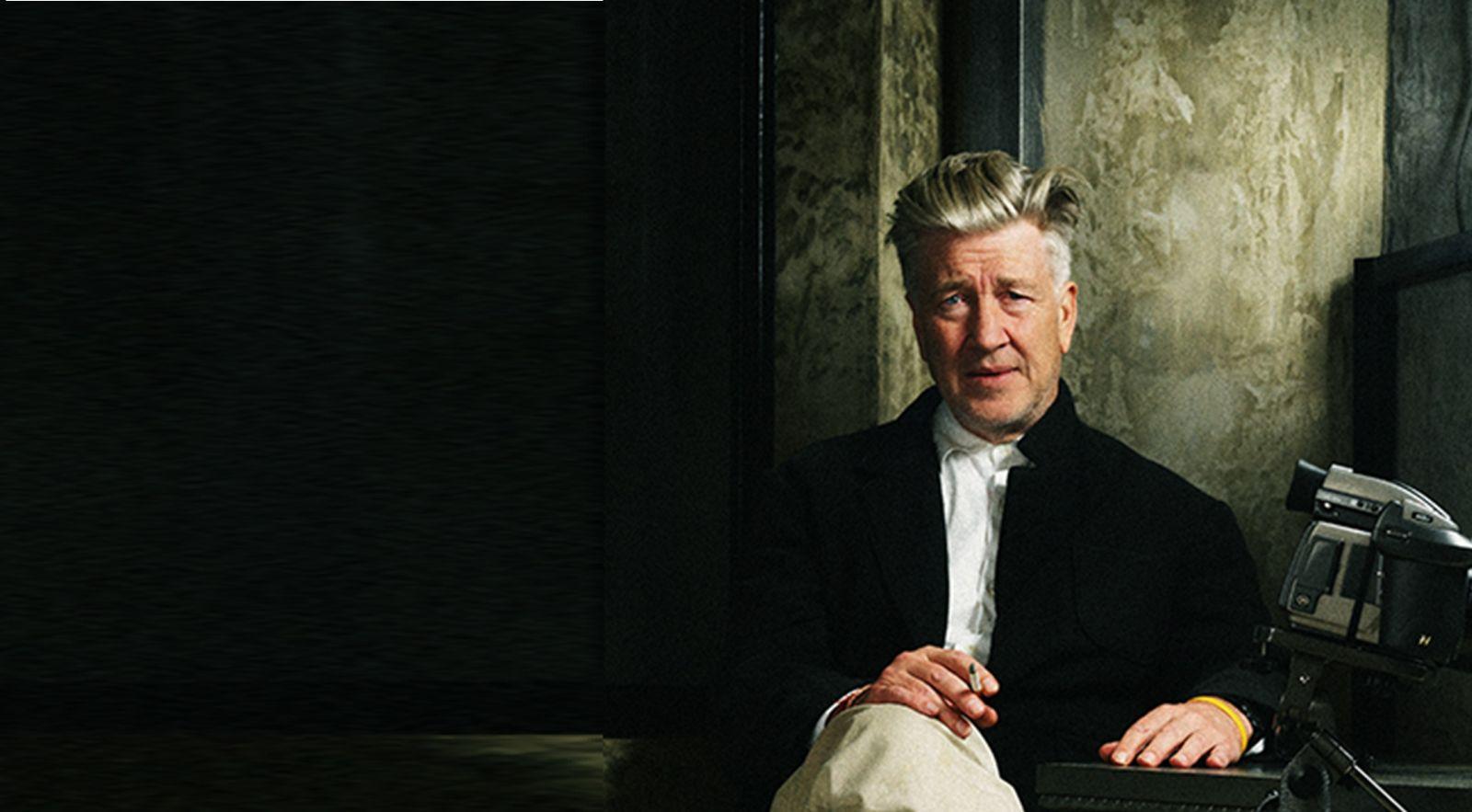 3-David Lynch Portrait Sitting