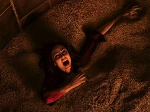 Laura Vandervoort stars as 'Anna' in JIGSAW
