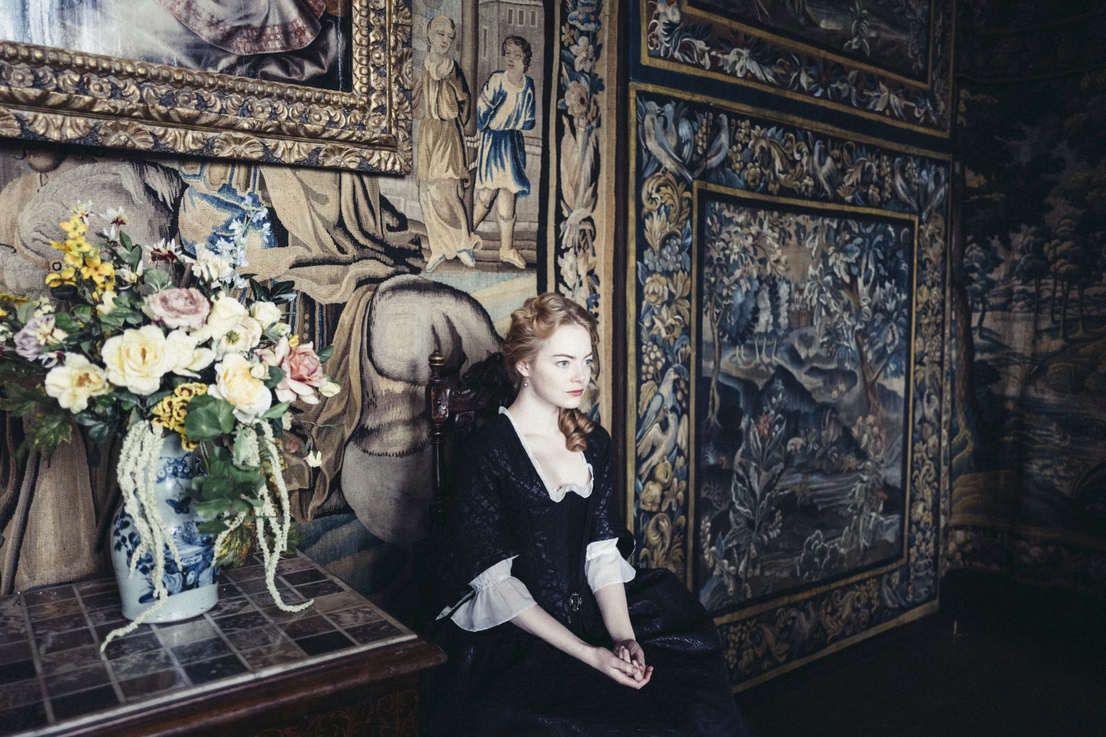 """Emma Stone stars in Fox Searchlight Pictures' """"THE FAVOURITE."""""""