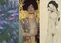 Monet Klimt Schiele 0
