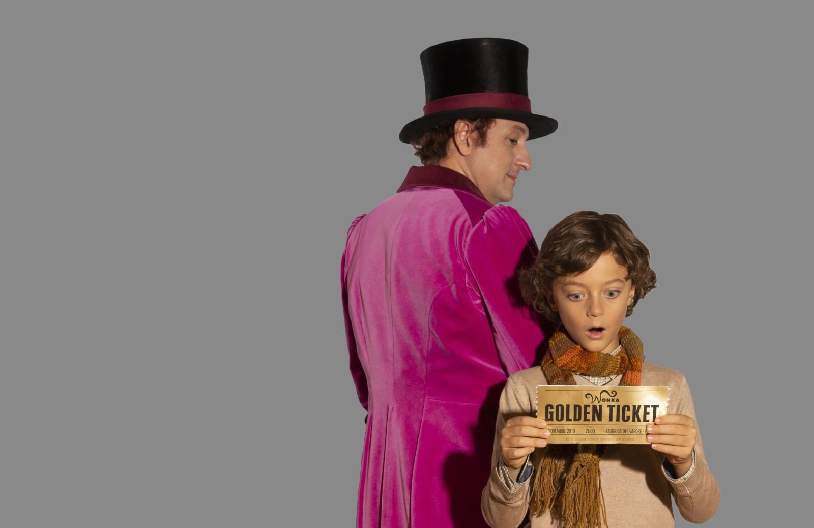 Uomini Roald Dahl Charlie E La Fabbrica Di Cioccolato Willy Wonka Costume