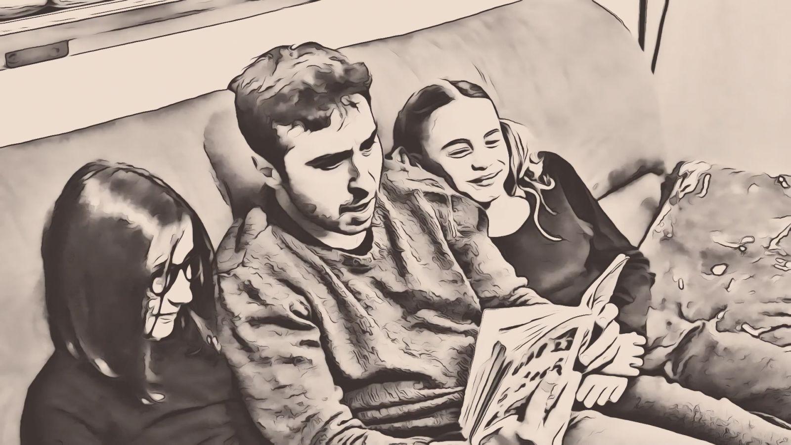 pino e le figlie cartoon