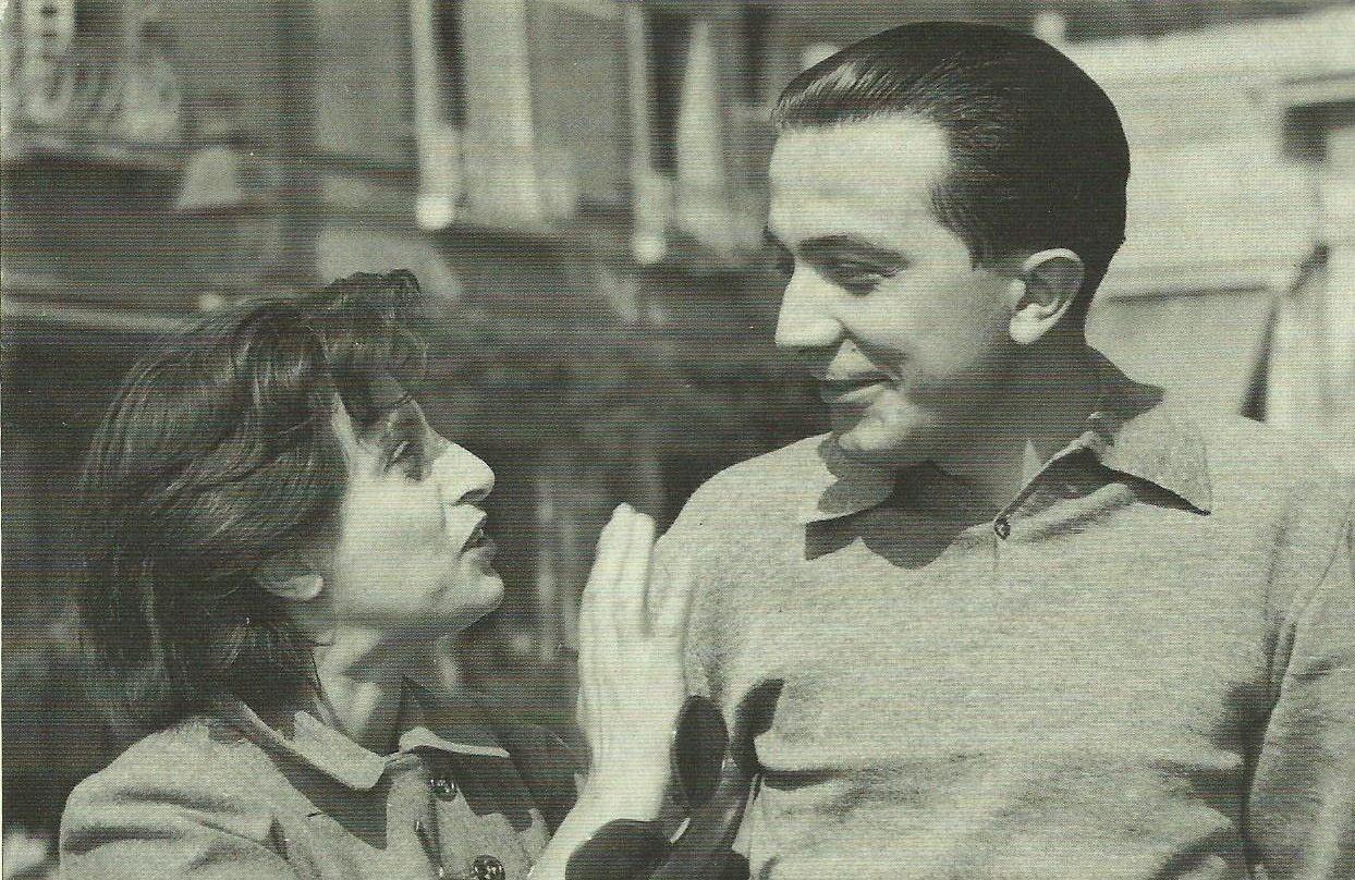 Andreotti e Anna Magnani