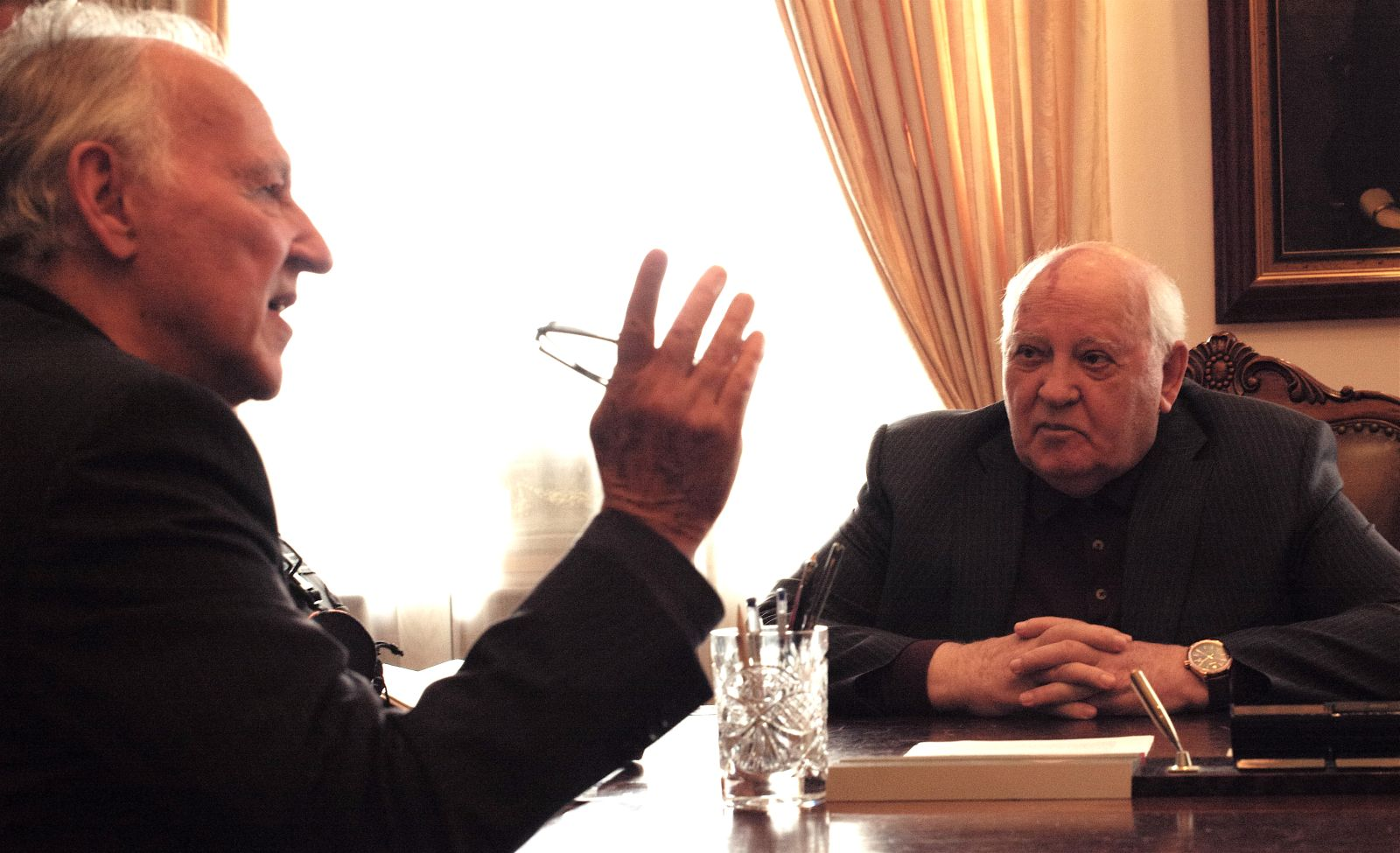 Herzog Incontra Gorbaciov 0