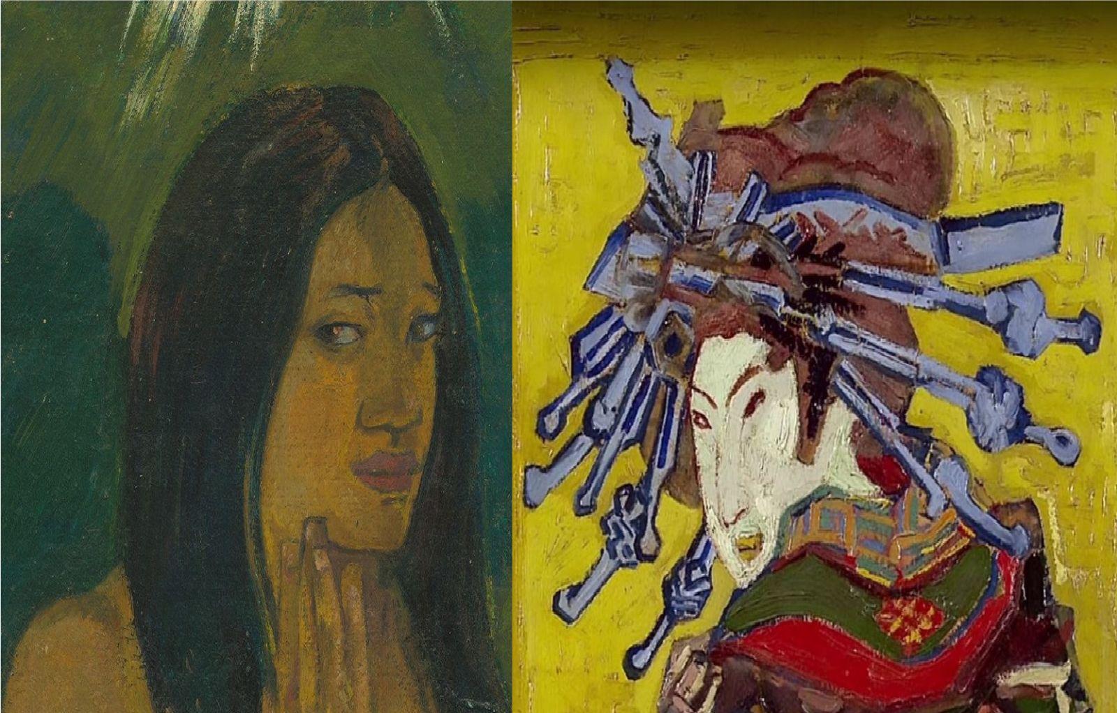 Il Fascino Dell'Esotismo Gauguin Van Gogh