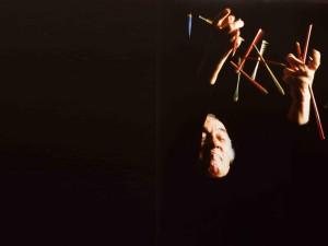 Federico Fellini, Ph. Pino Settanni, 1987 ca.