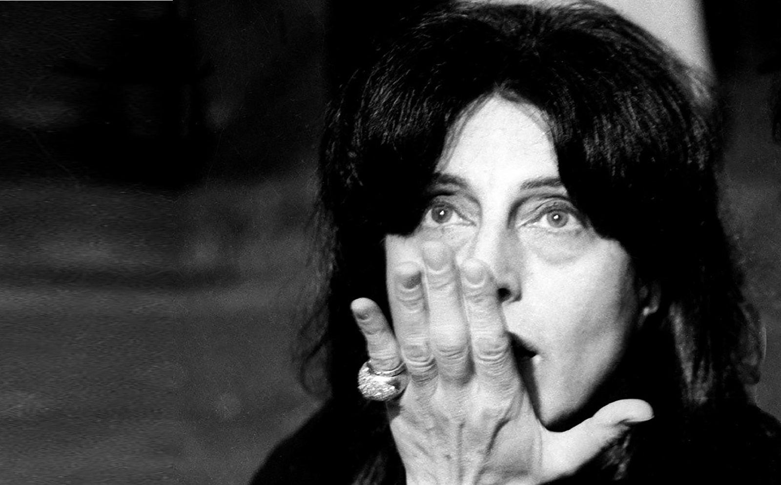 Anna Magnani durante le prove di _La Lupa_, 1965_©Archivio Fotografico Paolo Di Paolo