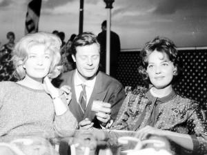 Vitti, Mastroianni e Moreau in Terrazza Martini