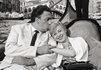MARIO DE BIASI_Fellini e Masina, Venezia, 1955