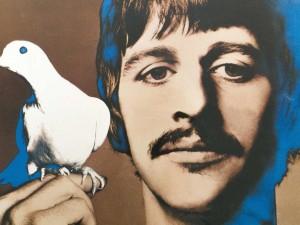 Richard Avedon [Ritratti psichedelici dei Beatles] 1967 serie di quattro poster Milano, Collezione Italo Rota